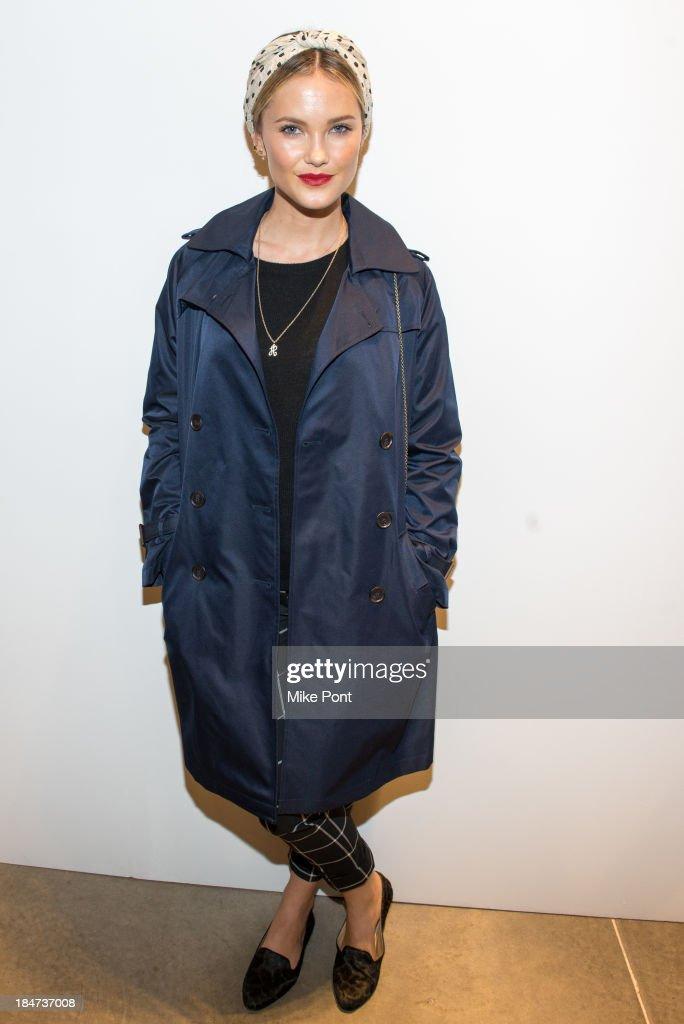 Model Kyleigh Kuhn attends the Joe Fresh Soho opening party at Joe Fresh Soho on October 15 2013 in New York City