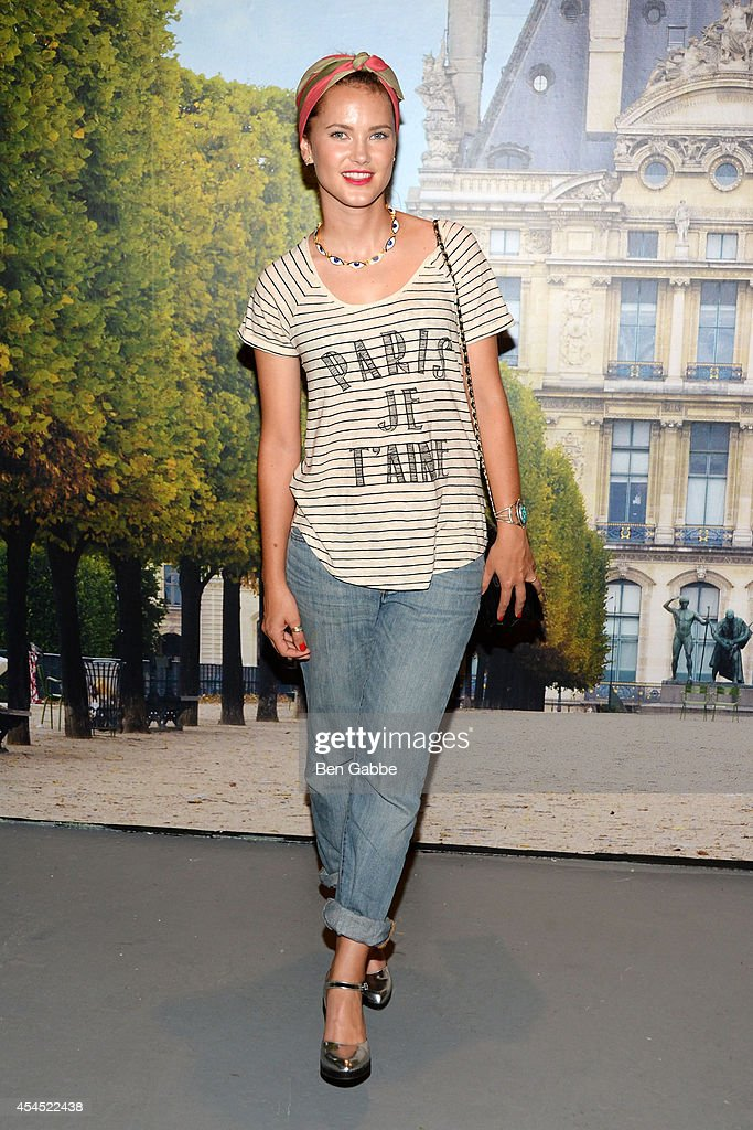 Model Kyleigh Kuhn attends the Maison Jules Presentation during Mercedes-Benz Fashion Week Spring 2015 at Art Beam on September 2, 2014 in New York City.