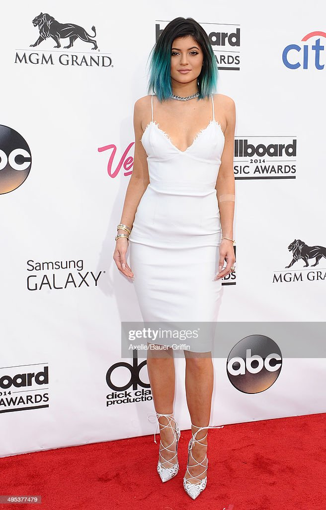Model Kylie Jenner arrives at the 2014 Billboard Music Awards at the MGM Grand Garden Arena on May 18, 2014 in Las Vegas, Nevada.
