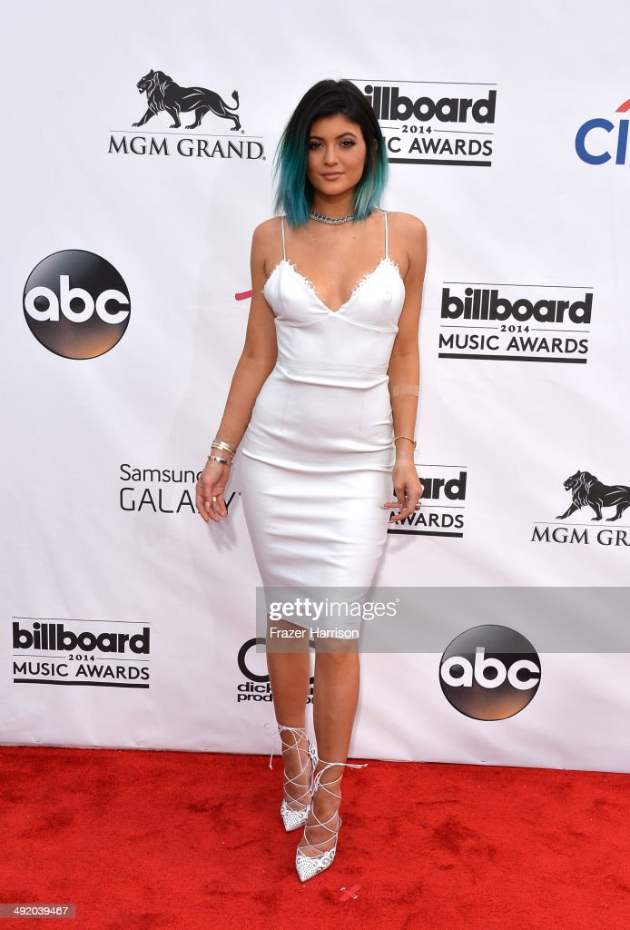 Model <a gi-track='captionPersonalityLinkClicked' href=/galleries/search?phrase=Kylie+Jenner&family=editorial&specificpeople=870409 ng-click='$event.stopPropagation()'>Kylie Jenner</a> attends the 2014 Billboard Music Awards at the MGM Grand Garden Arena on May 18, 2014 in Las Vegas, Nevada.