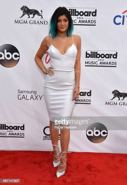 Model Kylie Jenner attends the 2014 Billboard Music Awards at the MGM Grand Garden Arena on May 18 2014 in Las Vegas Nevada
