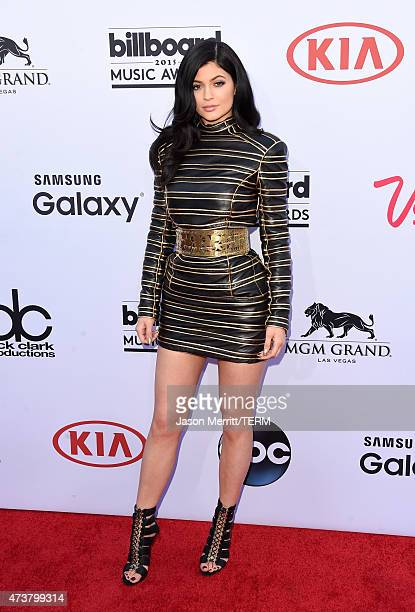 Model Kylie Jenner attends the 2015 Billboard Music Awards at MGM Grand Garden Arena on May 17 2015 in Las Vegas Nevada