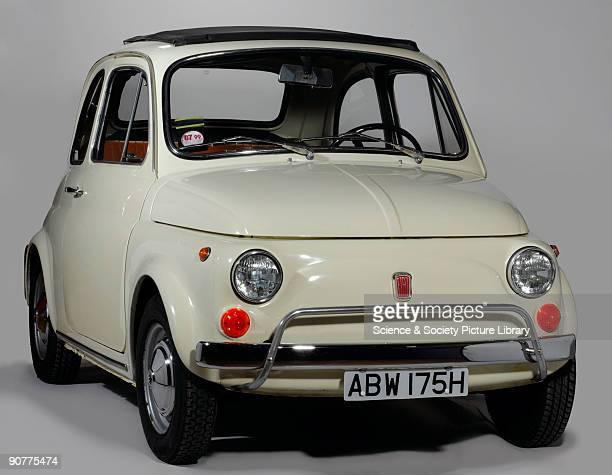 Model L Fiat Cinquecento manufactured in 1970 registration number ABW 175H