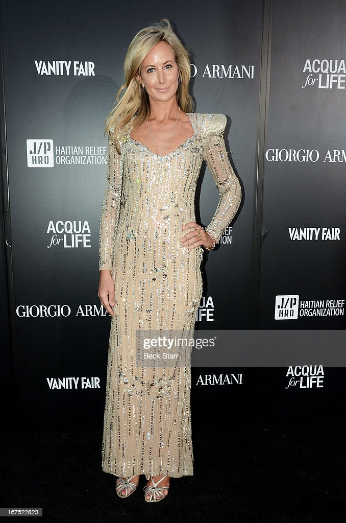 Model Lady Victoria Hervey arrives at the Giorgio Armani party to celebrate Paris Photo Los Angeles Vernissage opening night at Paramount Studios on April 25, 2013 in Hollywood, California.