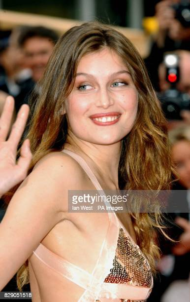 Model Laetitia Casta arrives for the screening of Bad Education a film by Pedro Almodovar at the Palais de Festival during the 57th Cannes Film...