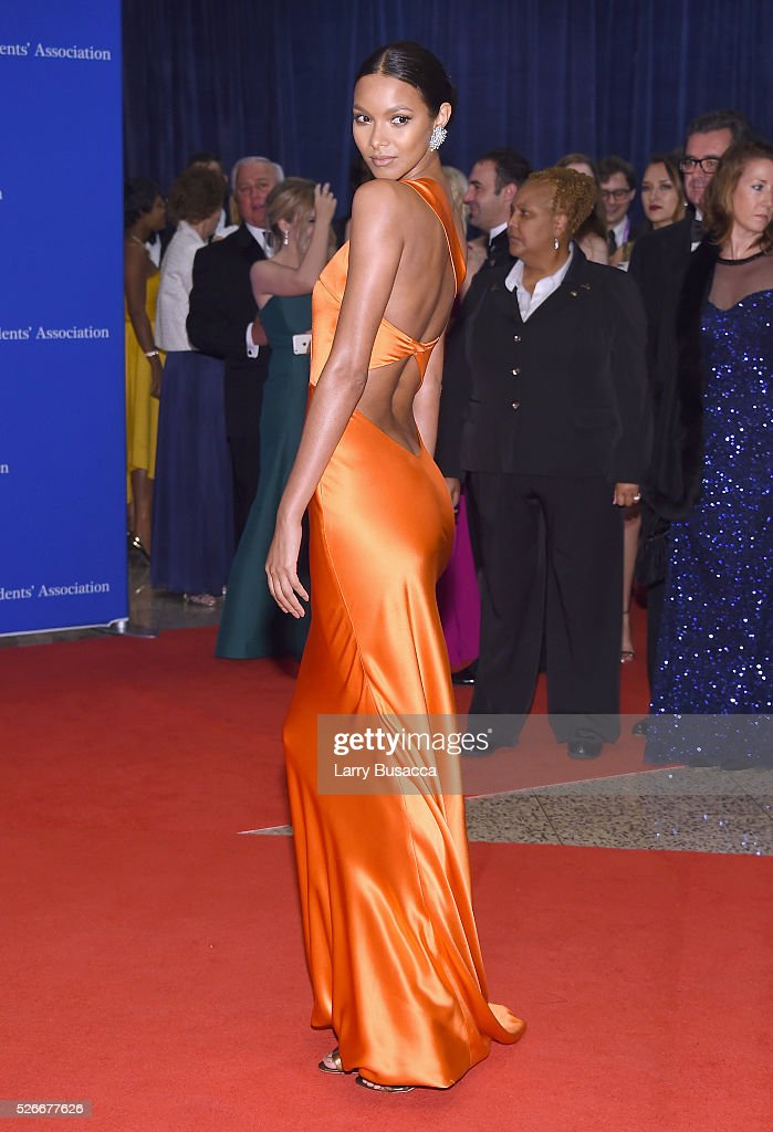 Model <a gi-track='captionPersonalityLinkClicked' href=/galleries/search?phrase=Lais+Ribeiro&family=editorial&specificpeople=7178171 ng-click='$event.stopPropagation()'>Lais Ribeiro</a> attends the 102nd White House Correspondents' Association Dinner on April 30, 2016 in Washington, DC.