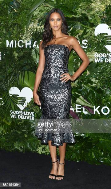 Model Lais Ribeiro attends the 11th Annual God's Love We Deliver Golden Heart Awards at Spring Studios on October 16 2017 in New York City
