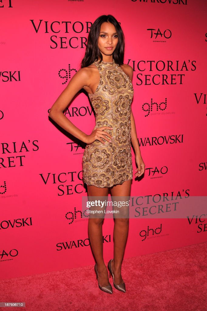 Model Lais Ribeiro attends the 2013 Victoria's Secret Fashion Show at TAO Downtown on November 13, 2013 in New York City.