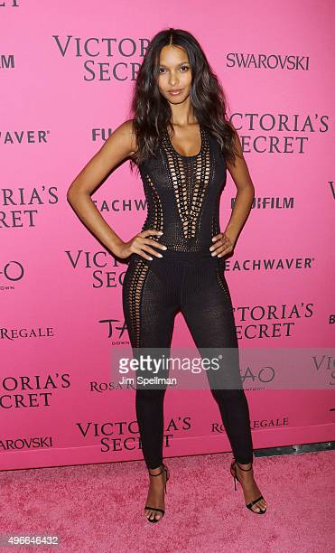 Model Lais Ribeiro attends the 2015 Victoria's Secret Fashion Show after party at TAO Downtown on November 10 2015 in New York City