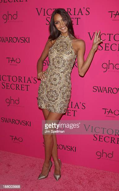 Model Lais Ribeiro attends the after party for the 2013 Victoria's Secret Fashion Show at TAO Downtown on November 13 2013 in New York City
