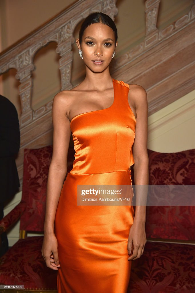 Model Lais Ribeiro attends the Bloomberg & Vanity Fair cocktail reception following the 2015 WHCA Dinner at the residence of the French Ambassador on April 30, 2016 in Washington, DC.