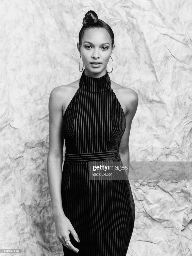 Model Lais Ribeiro poses for a portrait during the Daily Front Row's Fashion Media Awards at Four Seasons Hotel New York Downtown on September 8, 2017 in New York City.