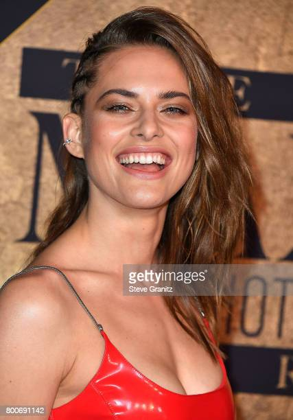 Model Lana Zakocela arrives at the The 2017 MAXIM Hot 100 Party at Hollywood Palladium on June 24 2017 in Los Angeles California