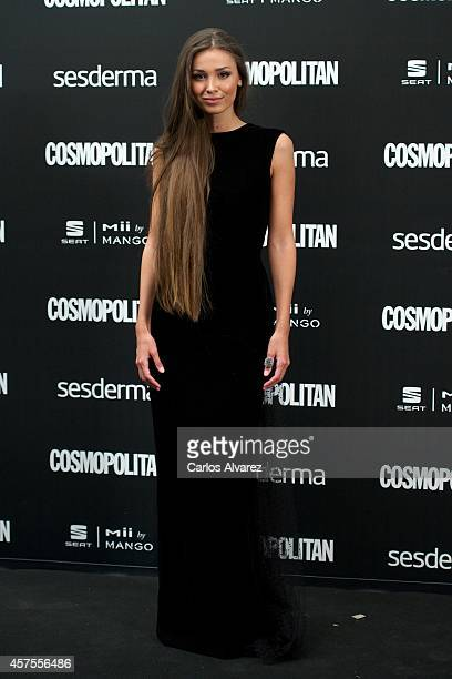 Model Lara Leito attends the Cosmopolitan Fun Fearless Awards 2014 at the Ritz Hotel on October 20 2014 in Madrid Spain