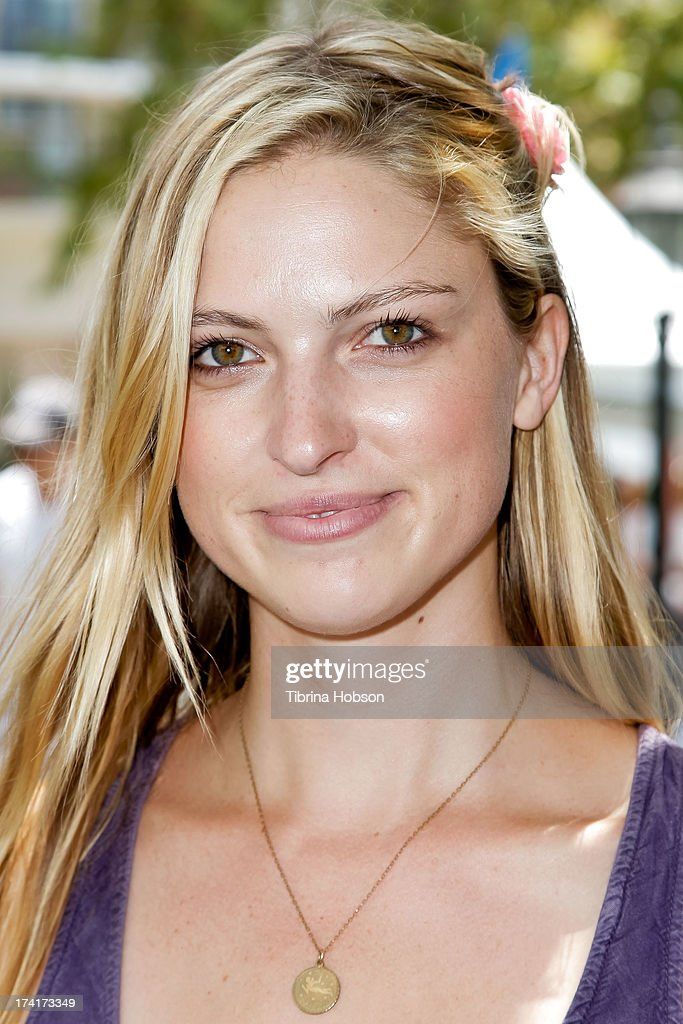 Model Laura Leary attends at the 'Wee Rock!' concert and benefit for the Children's Hospital of Los Angelesat at The Americana at Brand on July 20, 2013 in Glendale, California.