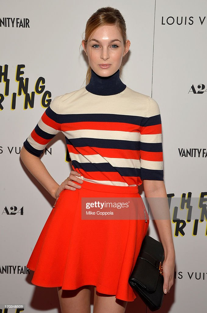 Model Laura Love attends 'The Bling Ring' screening at Paris Theatre on June 11, 2013 in New York City.