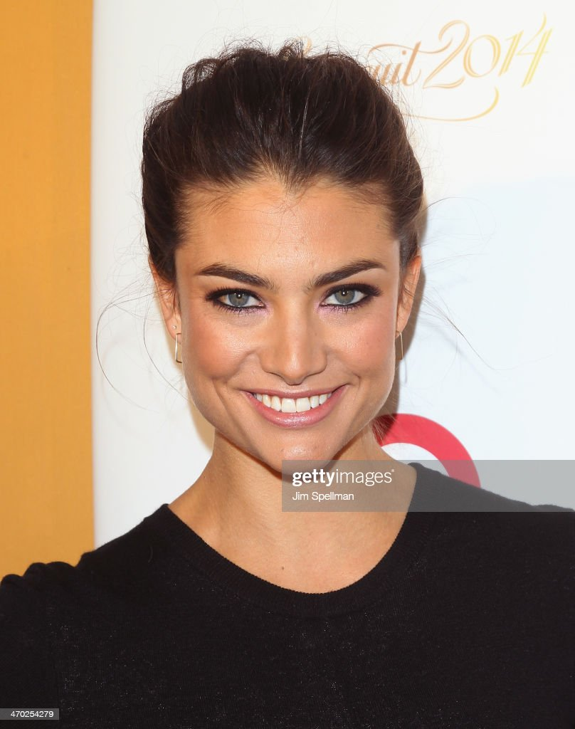 Model Lauren Mellor attends the Sports Illustrated Swimsuit 50th Anniversary Party at Swimsuit Beach House on February 18, 2014 in New York City.