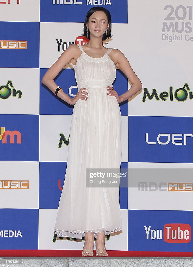 Model Lee Hae-Jung arrive for the MelOn Music Awards at Olympic Gymnasium on November 14, 2013 in Seoul, South Korea.