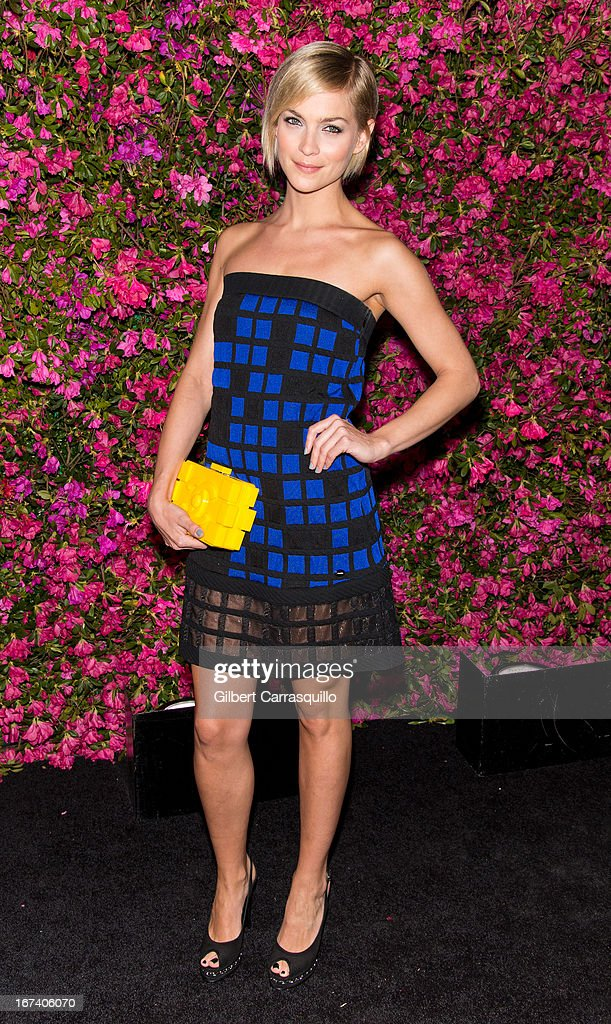 Model Leigh Lezark attends the 8th annual Chanel Artists Dinner during the 2013 Tribeca Film Festival at The Odeon on April 24, 2013 in New York City.