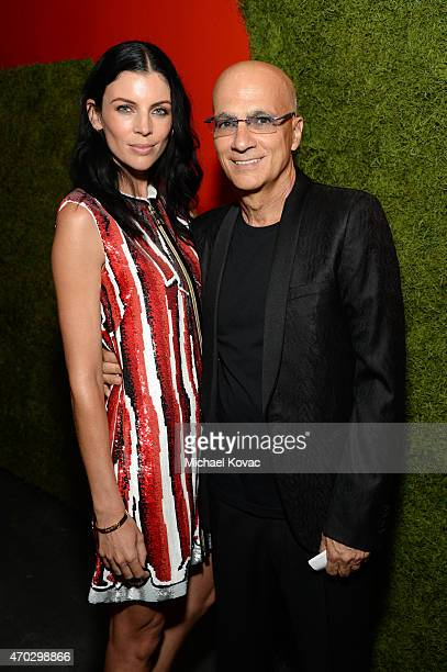 Model Liberty Ross and Producer Jimmy Iovine attend LACMA's 50th Anniversary Gala sponsored by Christie's at LACMA on April 18 2015 in Los Angeles...