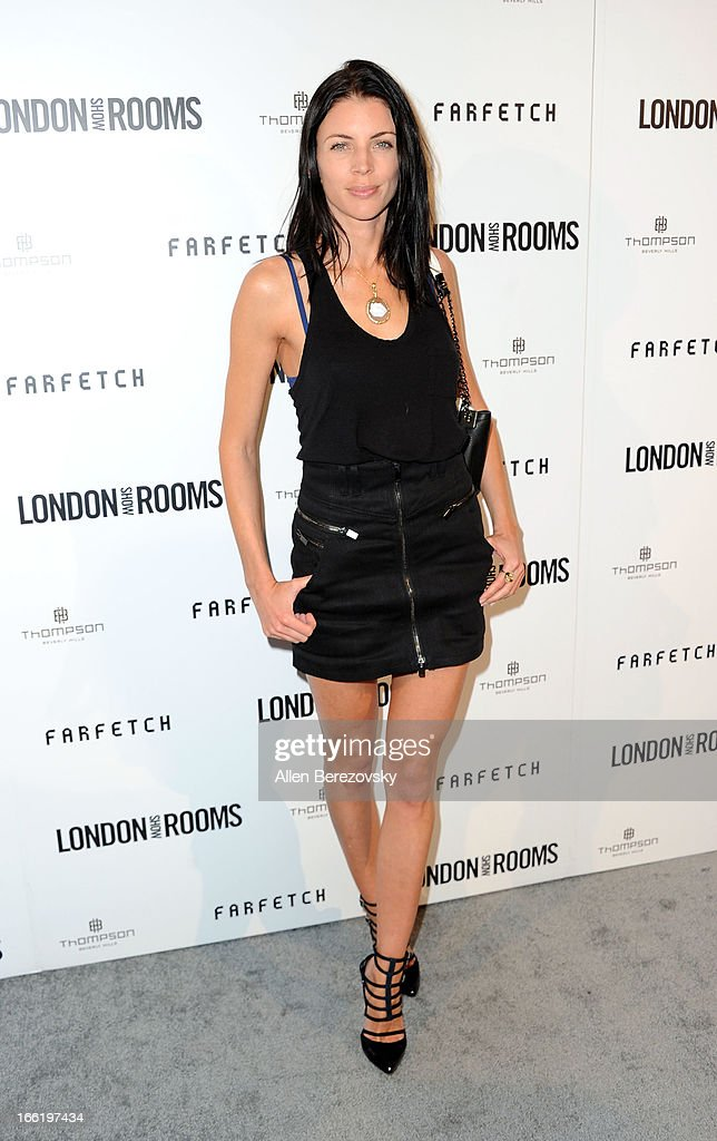 Model Liberty Ross attends the British Fashion Council's International Showcasing Initiative 'London Show Rooms LA' at Thompson Hotel on April 9, 2013 in Beverly Hills, California.