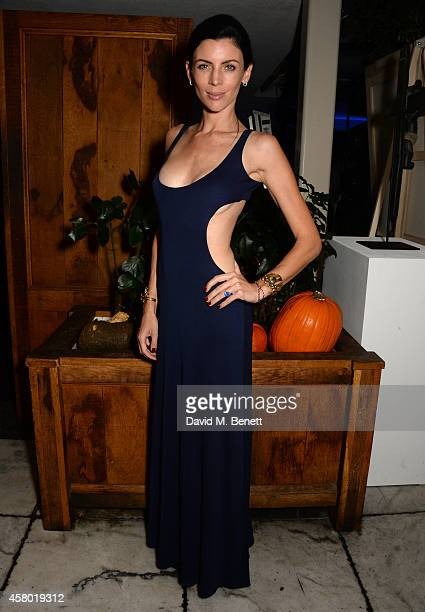 Model Liberty Ross attends the Teen Cancer America Fundraiser hosted by Darren Strowger Roger Daltrey and Rebecca Rothstein on October 28 2014 in Los...