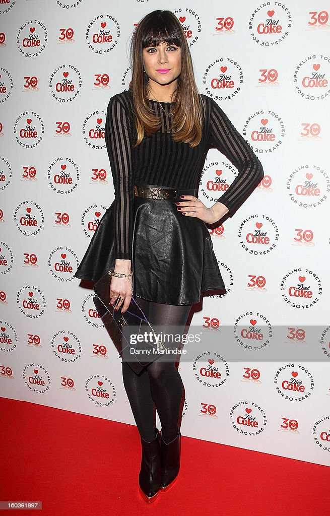 Model Lilah Parsons attends a party hosted by Diet Coke at Sketch on January 30, 2013 in London, England.