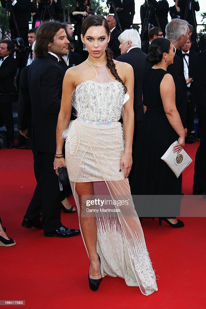 Model Liliana Matthaeus attends the Premiere of 'The Immigrant' at The 66th Annual Cannes Film Festival at Palais des Festivals on May 24, 2013 in Cannes, France.
