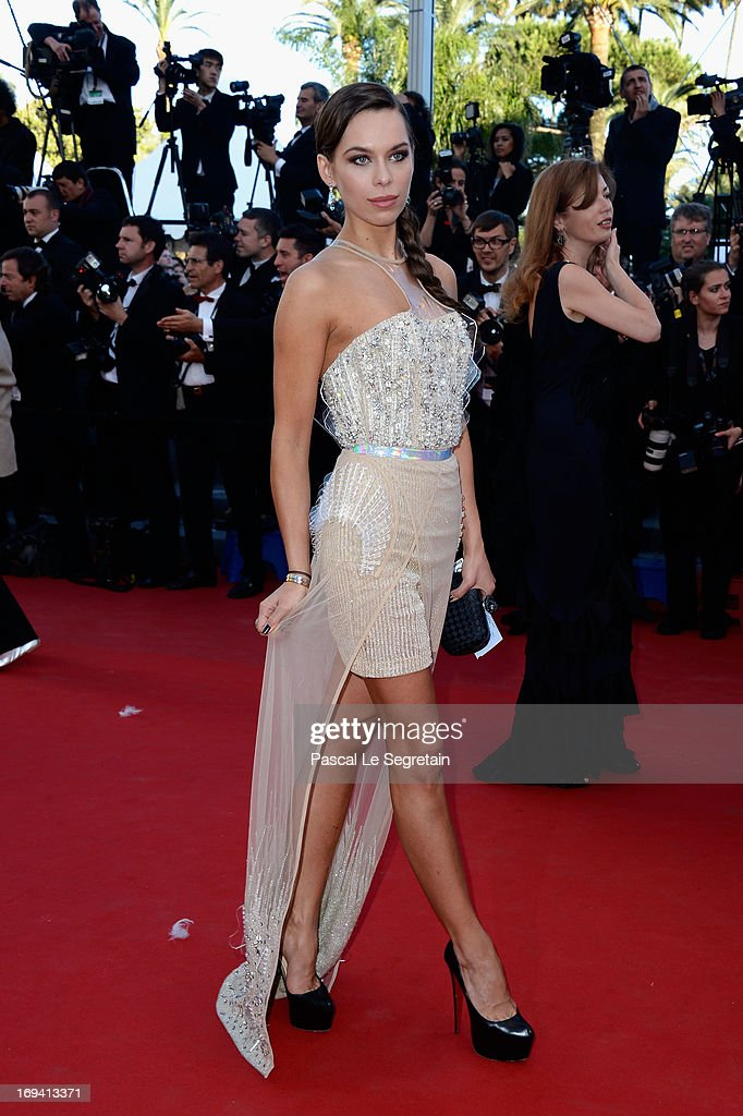 Model Liliana Matthaeus attends the 'The Immigrant' premiere during The 66th Annual Cannes Film Festival at the Palais des Festivals on May 24, 2013 in Cannes, France.