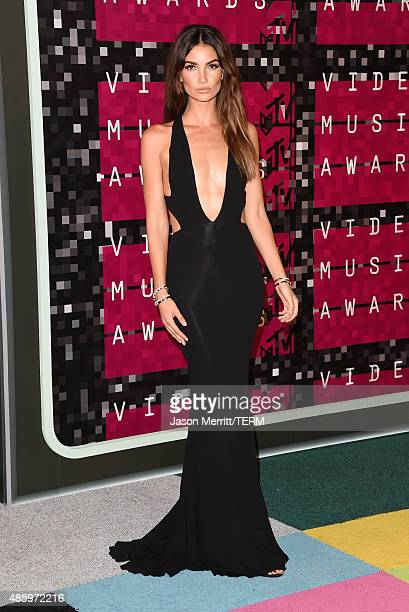 Model Lily Aldridge attends the 2015 MTV Video Music Awards at Microsoft Theater on August 30 2015 in Los Angeles California