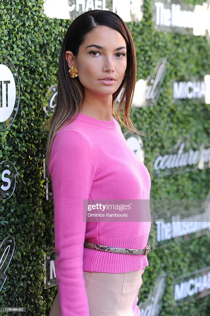Model Lily Aldridge attends The Couture Council of The Museum at the Fashion Institute of Technology hosted luncheon honoring Michael Kors with the 2013 Couture Council Award on September 4, 2013 in New York City.
