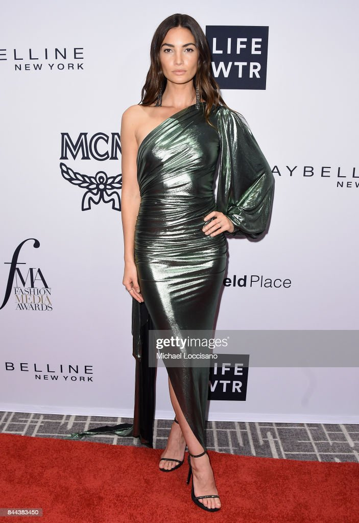Model Lily Aldridge attends the Daily Front Row's Fashion Media Awards at Four Seasons Hotel New York Downtown on September 8, 2017 in New York City.