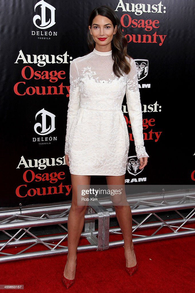 Model <a gi-track='captionPersonalityLinkClicked' href=/galleries/search?phrase=Lily+Aldridge&family=editorial&specificpeople=2110490 ng-click='$event.stopPropagation()'>Lily Aldridge</a> attends the premiere of