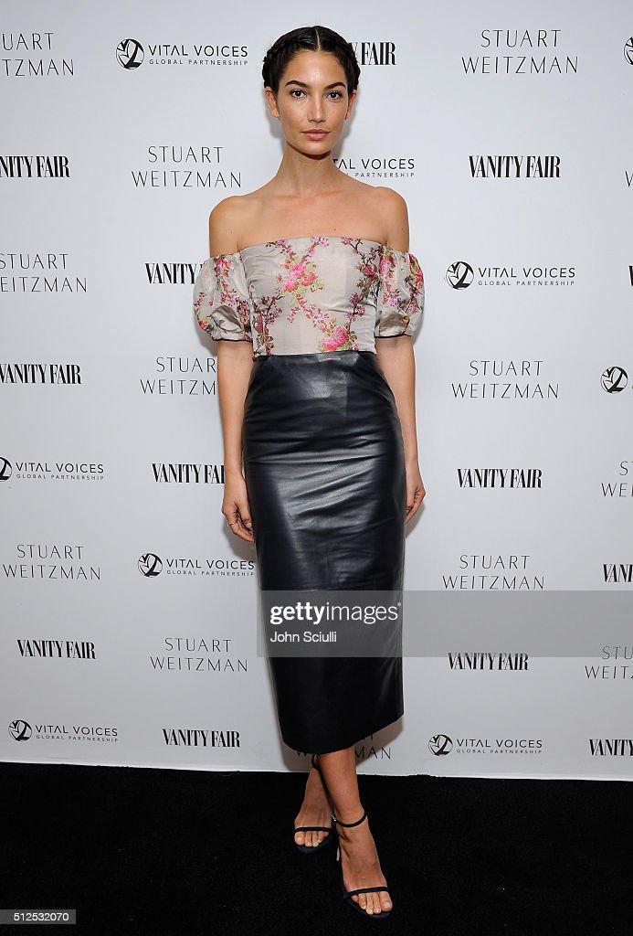 Vanity Fair And Stuart Weitzman Luncheon To Celebrate Elizabeth Banks