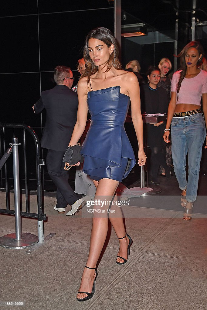 Model <a gi-track='captionPersonalityLinkClicked' href=/galleries/search?phrase=Lily+Aldridge&family=editorial&specificpeople=2110490 ng-click='$event.stopPropagation()'>Lily Aldridge</a> is seen at the after-party for The Costume Institute Benefit Gala on May 5, 2014 in New York City.