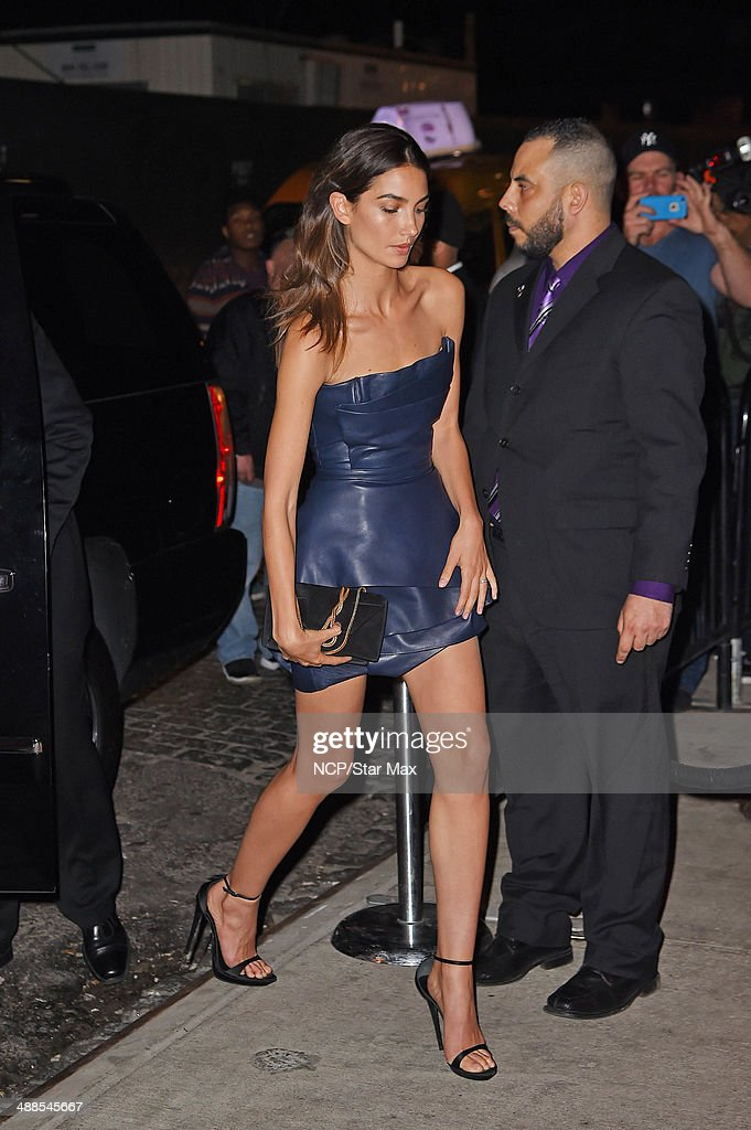 Model Lily Aldridge is seen at the after-party for The Costume Institute Benefit Gala on May 5, 2014 in New York City.