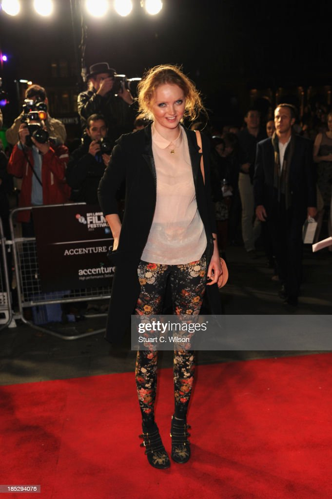Model <a gi-track='captionPersonalityLinkClicked' href=/galleries/search?phrase=Lily+Cole&family=editorial&specificpeople=206320 ng-click='$event.stopPropagation()'>Lily Cole</a> attends the European Premiere of 'Twelve Years A Slave' during the 57th BFI London Film Festival at Odeon Leicester Square on October 18, 2013 in London, England.