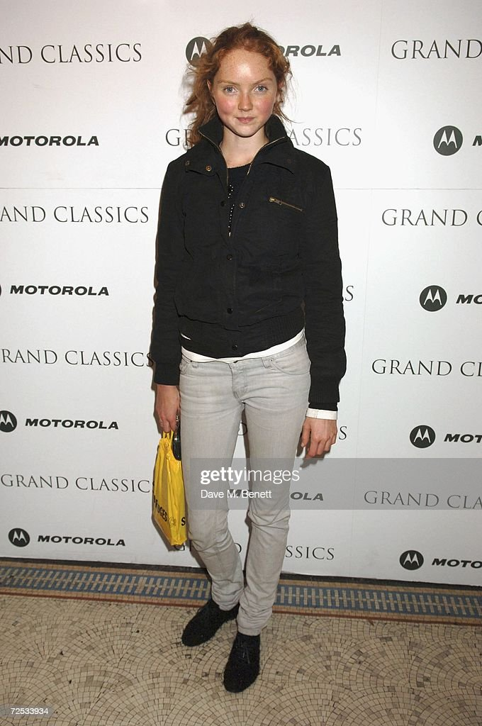 Model Lily Cole attends the Motorola Grand Classics Movie Night at the Electic Cinema on November 13 2006 in London England British Designer of the...
