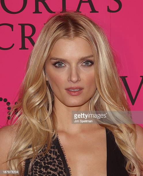 Model Lily Donaldson attends the after party for the 2013 Victoria's Secret Fashion Show at TAO Downtown on November 13 2013 in New York City