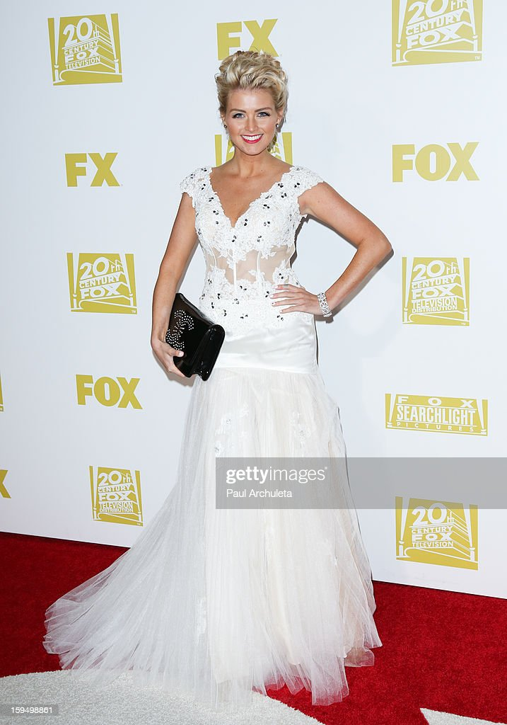 Model Lindsay Davis attends the FOX after party for the 70th Golden Globes award show at The Beverly Hilton Hotel on January 13, 2013 in Beverly Hills, California.