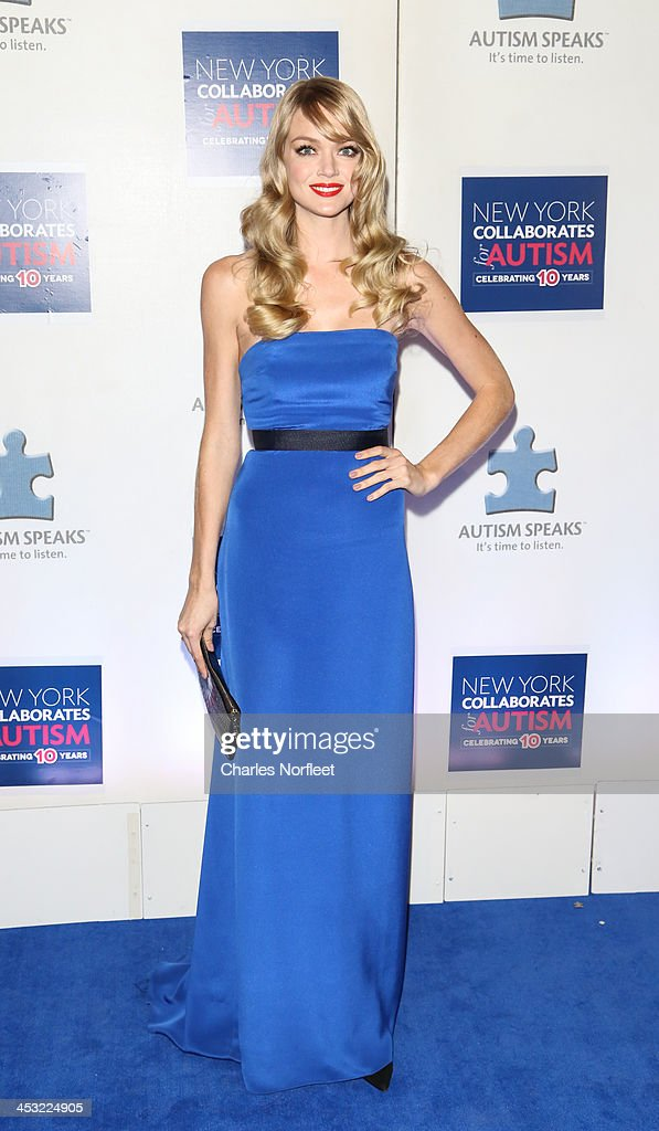Model Lindsay Elingson attends the 2013 Winter Ball For Autism at the Metropolitan Museum of Art on December 2, 2013 in New York City.
