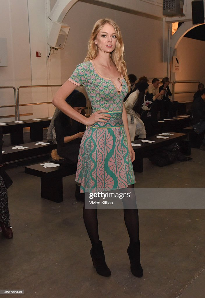 Sophie Theallet - Front Row - MADE Fashion Week Fall 2015