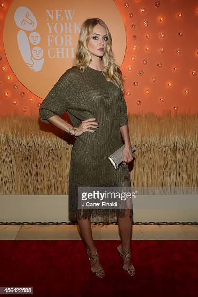 Model Lindsay Ellingson attends the 15th Annual New Yorkers For Children Gala at Cipriani 42nd Street on September 30 2014 in New York City