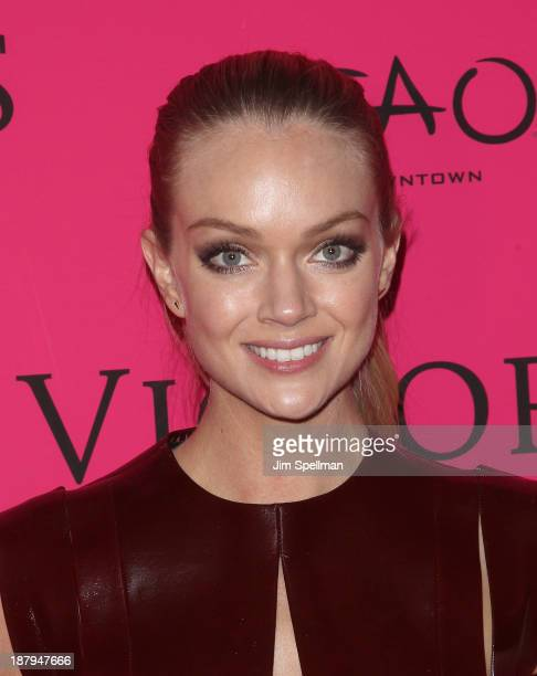 Model Lindsay Ellingson attends the after party for the 2013 Victoria's Secret Fashion Show at TAO Downtown on November 13 2013 in New York City