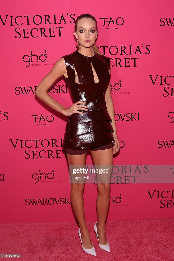 Model Lindsay Ellingson attends the after party for the 2013 Victoria's Secret Fashion Show at TAO Downtown on November 13, 2013 in New York City.