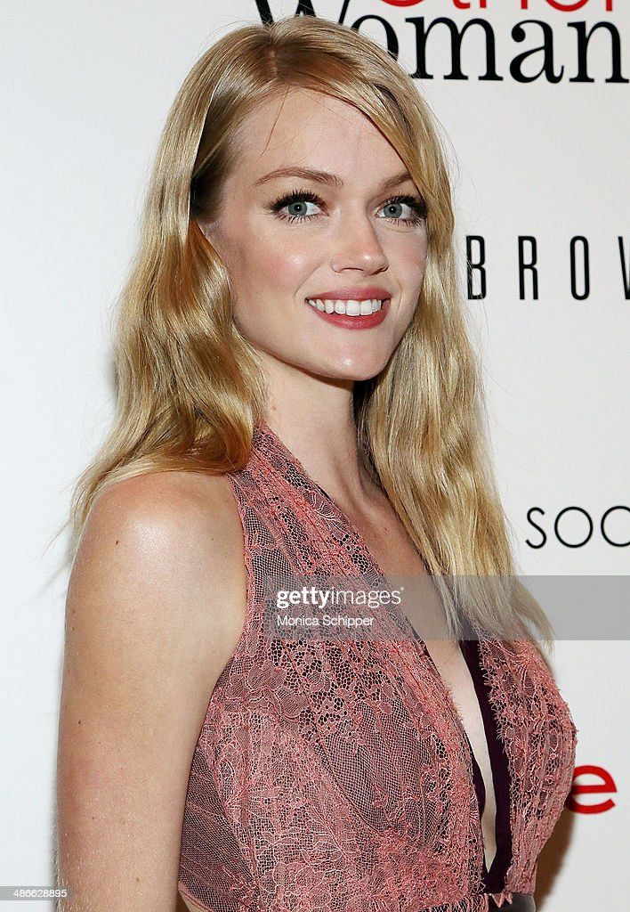 Model Lindsay Ellingson attends The Cinema Society & Bobbi Brown with InStyle screening of 'The Other Woman' at The Paley Center for Media on April 24, 2014 in New York City.