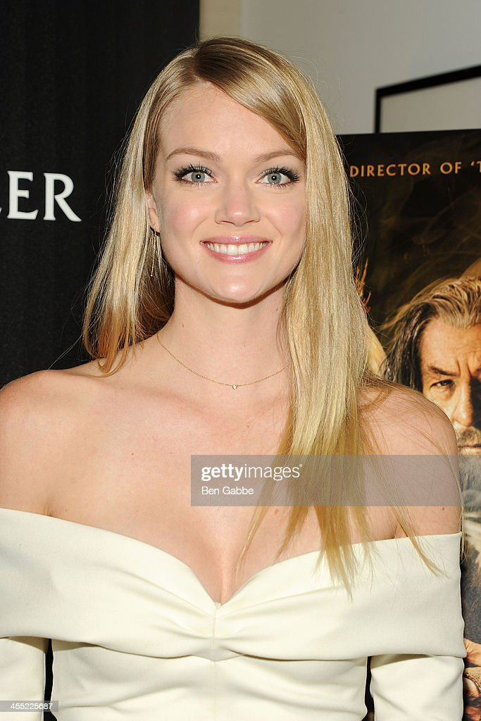 Model <a gi-track='captionPersonalityLinkClicked' href=/galleries/search?phrase=Lindsay+Ellingson&family=editorial&specificpeople=4248292 ng-click='$event.stopPropagation()'>Lindsay Ellingson</a> attends The Cinema Society & Moncler host a screening of New Line Cinema & MGM Pictures' 'The Hobbit: The Desolation of Smaug' at Time Warner Screening Room on December 11, 2013 in New York City.