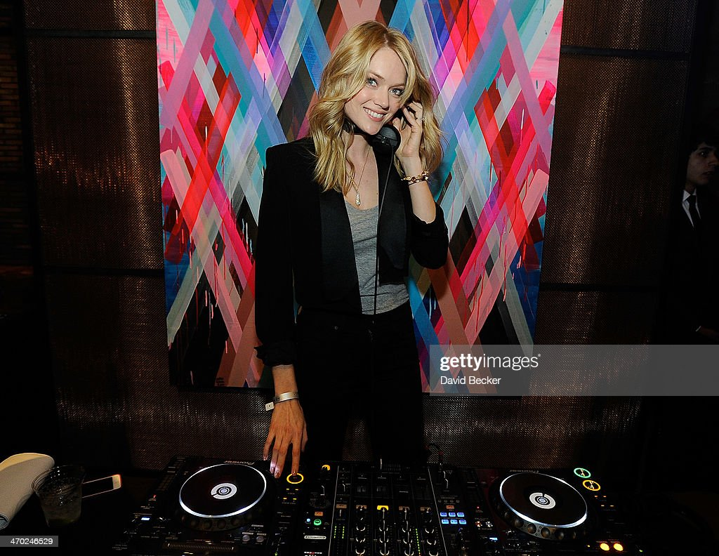 Model Lindsay Ellingson attends the Fitz and the Tantrum and Capital Cities concert presented by AG at The Chelsea at The Cosmopolitan of Las Vegas on February 18, 2014 in Las Vegas, Nevada.