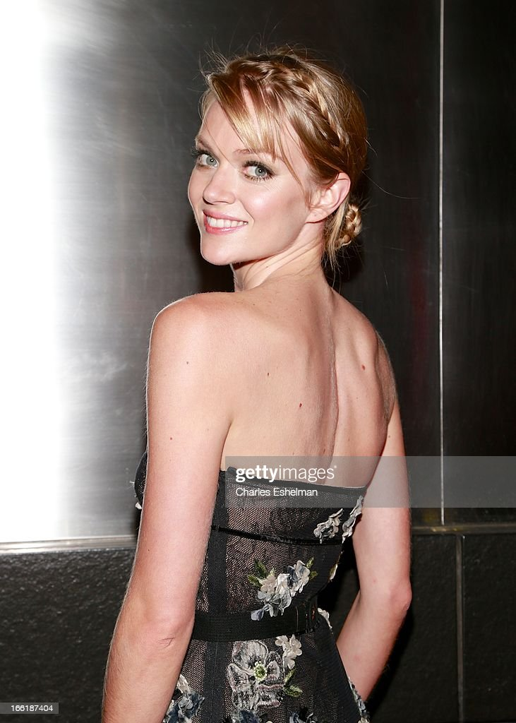 Model Lindsay Ellingson attends the New Yorker's For Children's 10th Anniversary A Fool's Fete Spring Dance at Mandarin Oriental Hotel on April 9, 2013 in New York City.