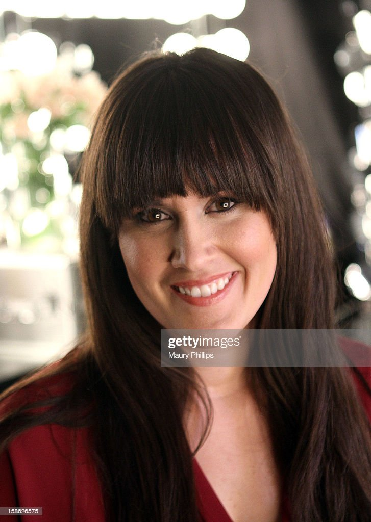 Model Lindsay Gabler on set during Behind The Beauty Documentary - Day 4 at The Redbury Hotel on December 21, 2012 in Hollywood, California.